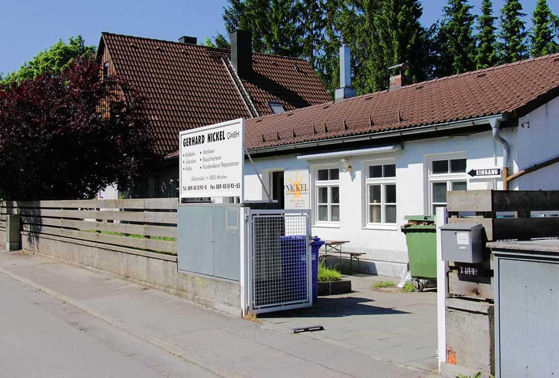 Gerhard Nickel GmbH Jalosien, Rolläden und Markisenbau. Gerard Nickel ist Ihr verlässlicher Partner in Sachen Sonnenschutz in München Trudering-Riem.