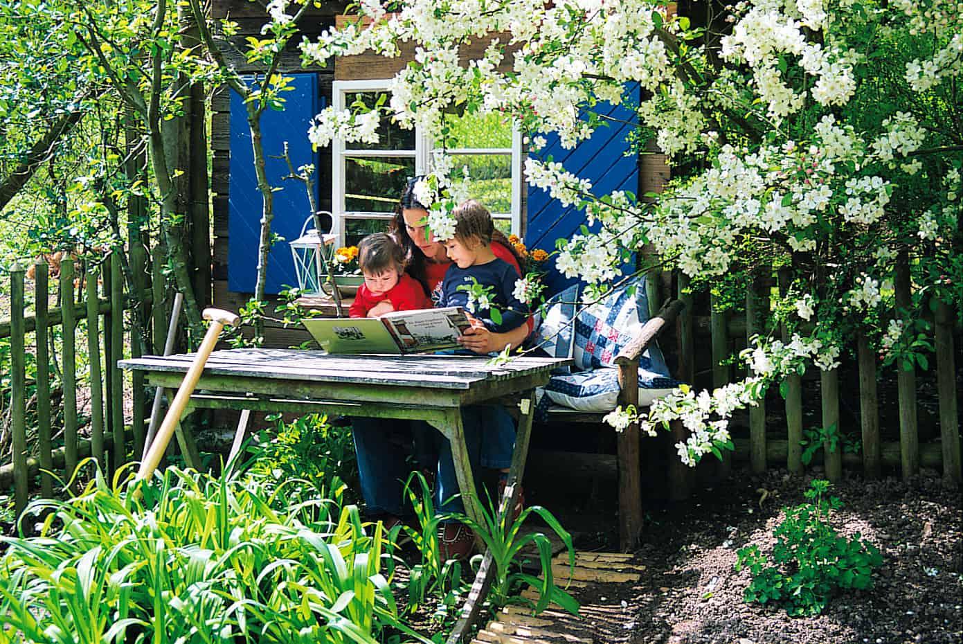 Kleiner idyllische Garten
