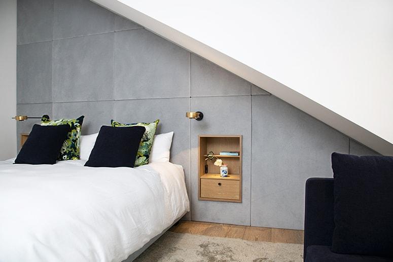 Freiraum für Familienleben: Schlafzimmer-Dach