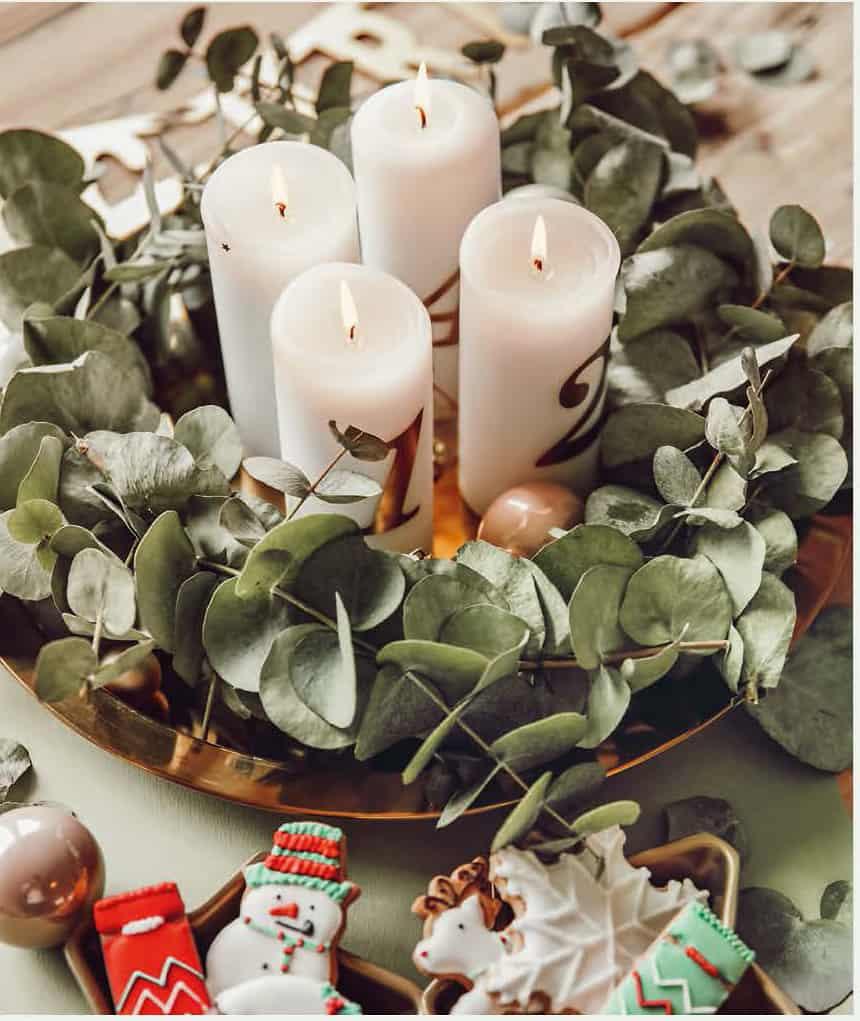 Kreative Begleiter: Kerzen