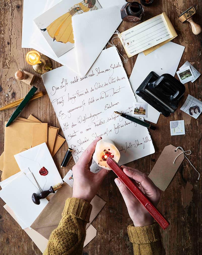Handgeschriebene Geschenke selber erstellen