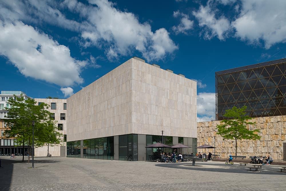 Aussenaufnahme Juedisches Museum München Foto Daniel Schvarcz