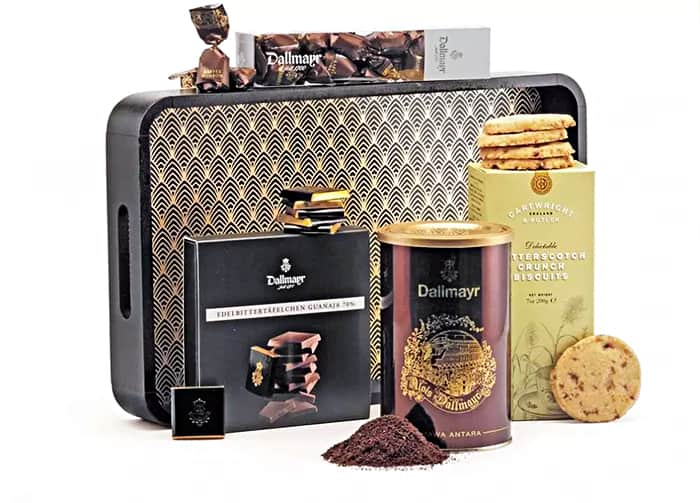 Dallmayr Geschenk Set Kaffeerunde