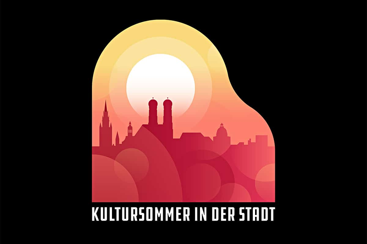 Kultursommer in der Stadt München Plakat