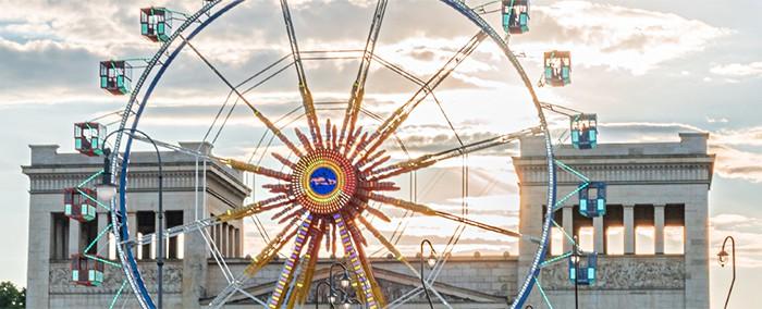 Riesenrad Königsplatz