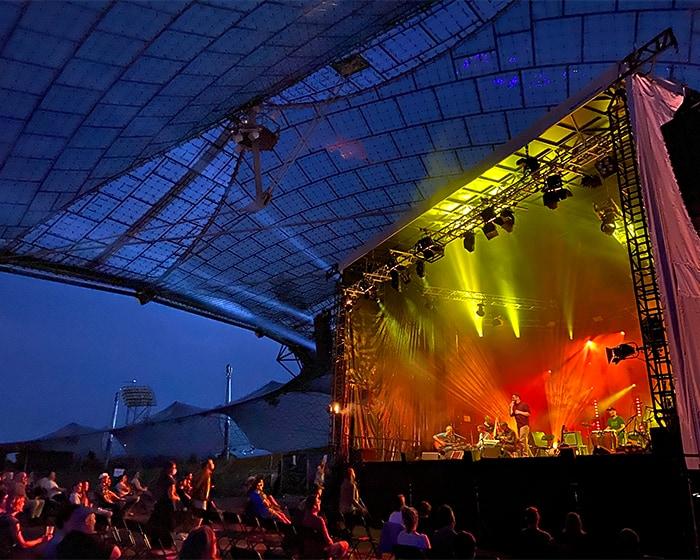 Sommerbühne im Stadion Olympiapark, Foto: Danijela Kufner