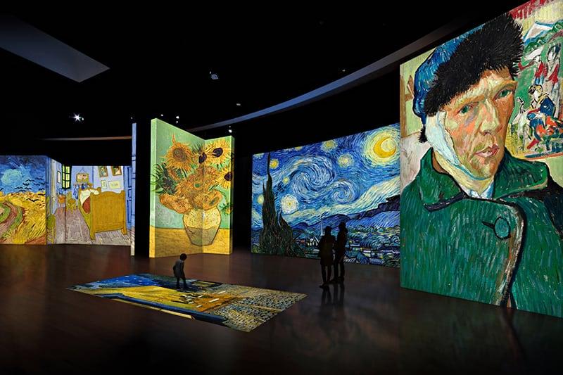 Van Gogh Alive Kultur in München