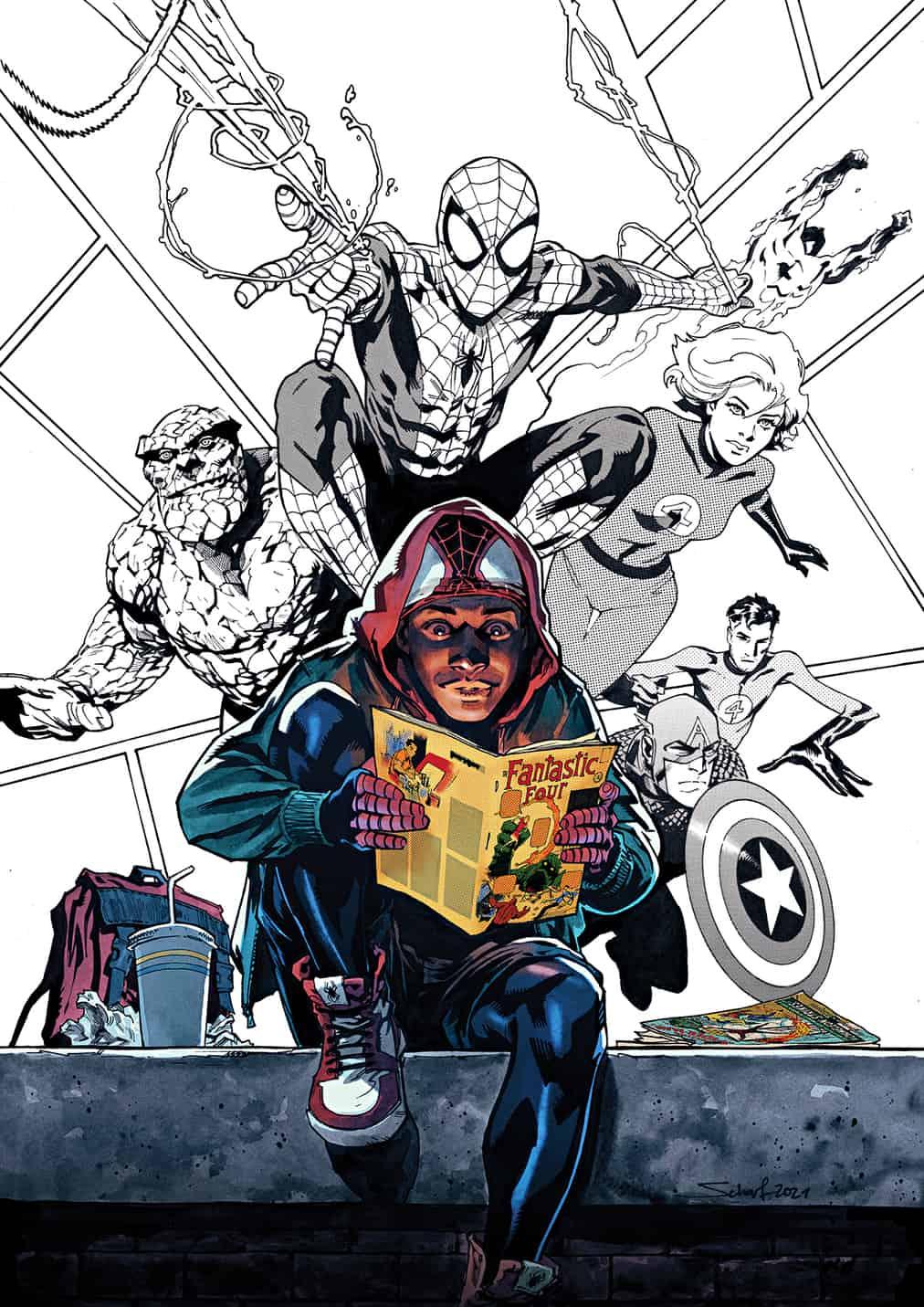 60 Jahre Marvel Comics Universe (c) Jonas Scharf MARVEL