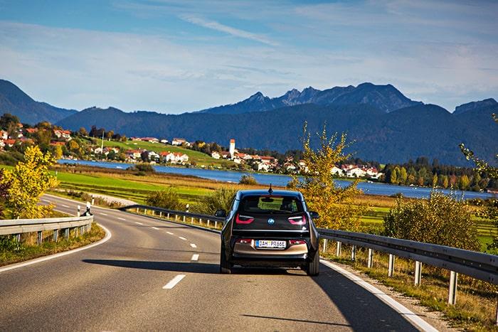 Deutsche Alpenstrasse Klimaschutz