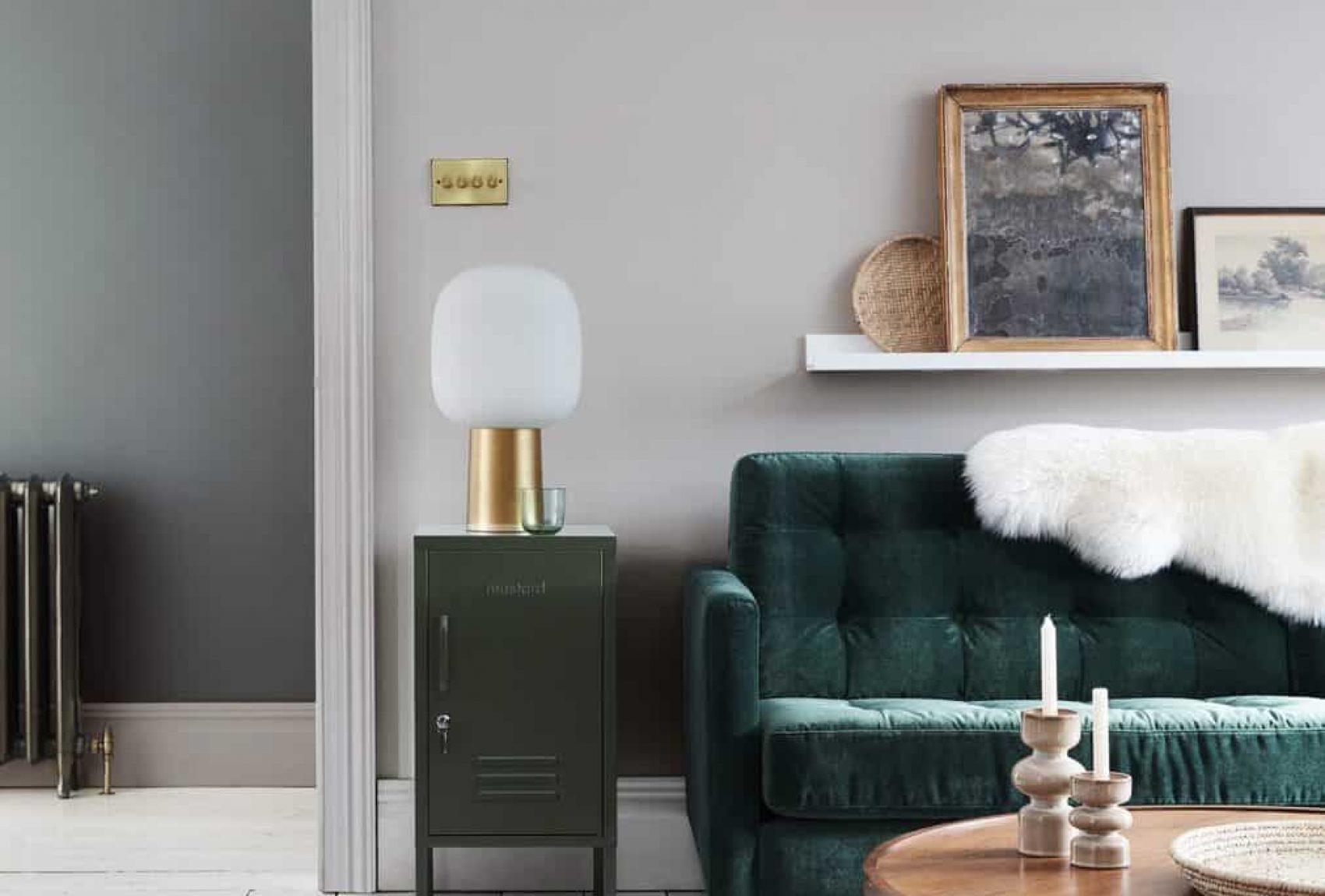 Little Green Intelligent Paints Wohnzimmerfarbe