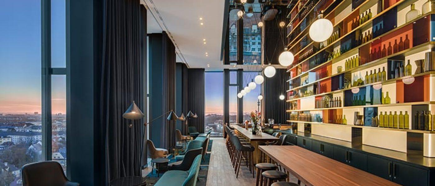 Außergewöhnliche Bars: Andaz Hotelbar München